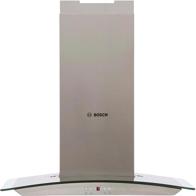 Bosch DWA06E651B 60 cm Chimney Cooker Hood - Stainless Steel - D Rated