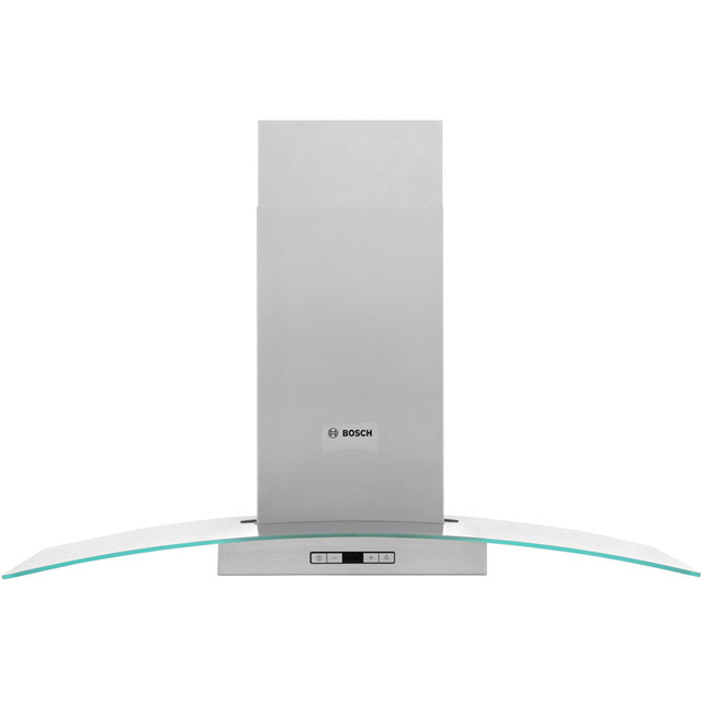 Bosch Serie 6 DWA097E51B 90 cm Chimney Cooker Hood - Stainless Steel / Glass - A+ Rated - DWA097E51B_BS - 1