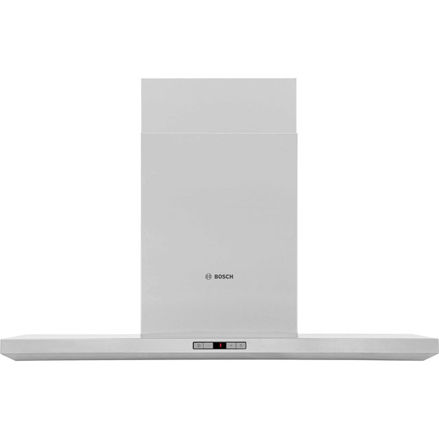 Bosch Serie 6 DWB098E51B 90 cm Chimney Cooker Hood - Brushed Steel - A+ Rated - DWB098E51B_BS - 1