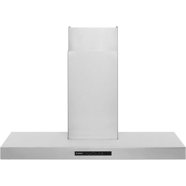 Bosch Serie 4 90 cm Chimney Cooker Hood - Stainless Steel - D Rated