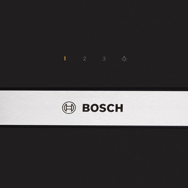 Bosch Serie 4 DWK065G60B Built In Chimney Cooker Hood - Black - DWK065G60B_BK - 3