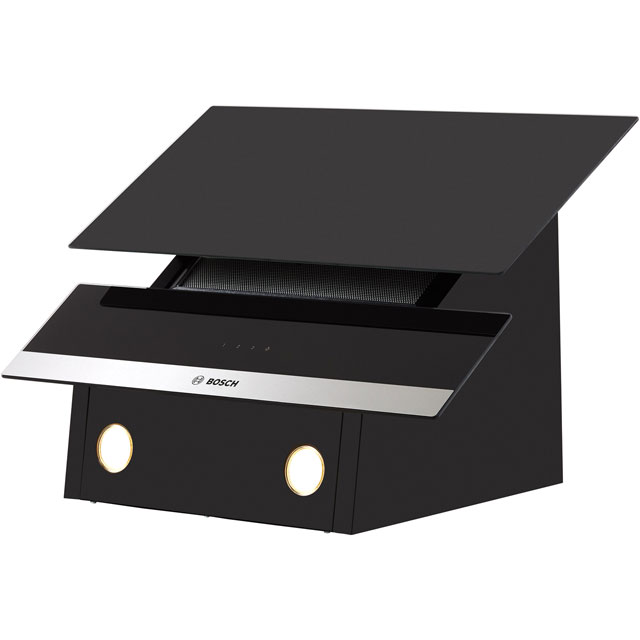 Bosch Serie 4 DWK065G60B Built In Chimney Cooker Hood - Black - DWK065G60B_BK - 5