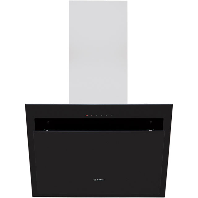Bosch Serie 4 DWK67CM60B Chimney Cooker Hood - Stainless Steel - B Rated - DWK67CM60B_SS - 1