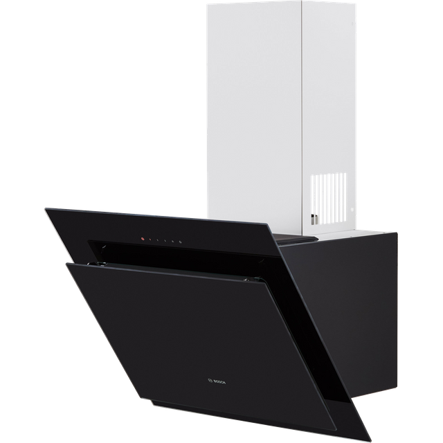 Bosch Serie 4 DWK67CM60B Angled Chimney Cooker Hood - Stainless Steel - B Rated