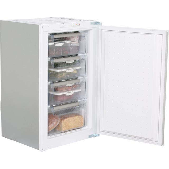 Bosch Serie 4 Integrated Upright Freezer with Sliding Door Fixing Kit - A+ Rated