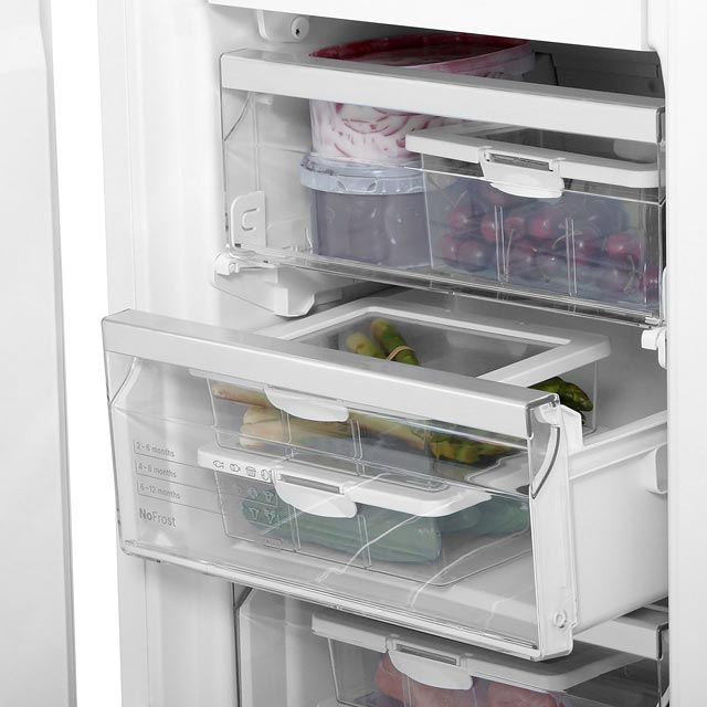 Bosch GIN31AE30G Built In Upright Freezer - White - GIN31AE30G_WH - 4