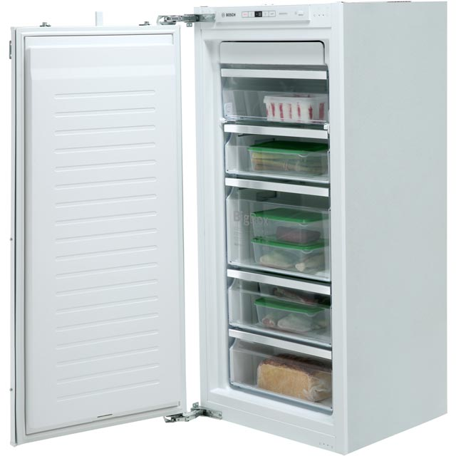 Bosch GIN41AE30G Integrated Frost Free Upright Freezer with Fixed Door Fixing Kit - A++ Rated - GIN41AE30G_WH - 1