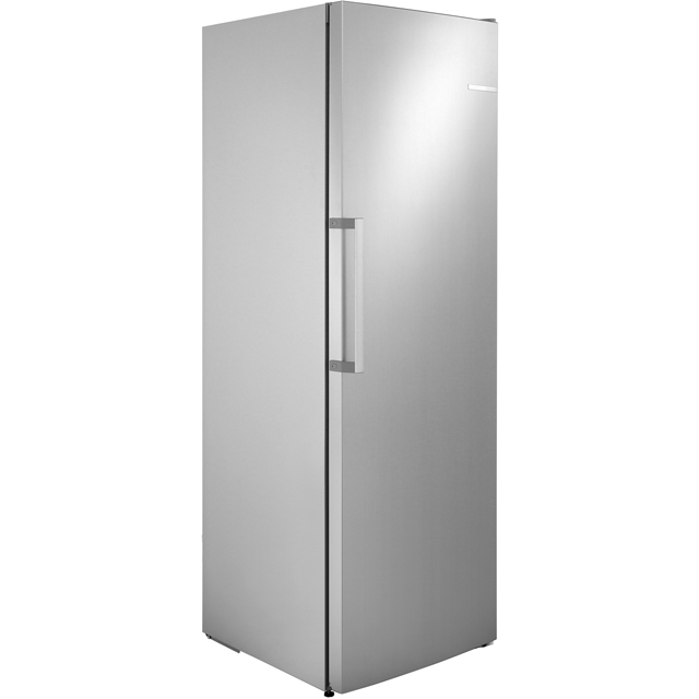 Bosch Serie 4 Frost Free Upright Freezer - Silver - A++ Rated