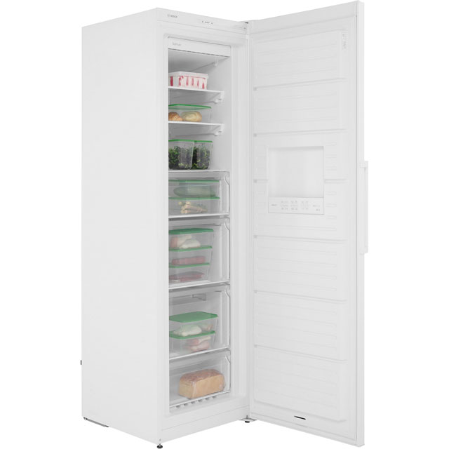 Bosch Serie 4 GSN36VW3PG Upright Freezer - White - GSN36VW3PG_WH - 4