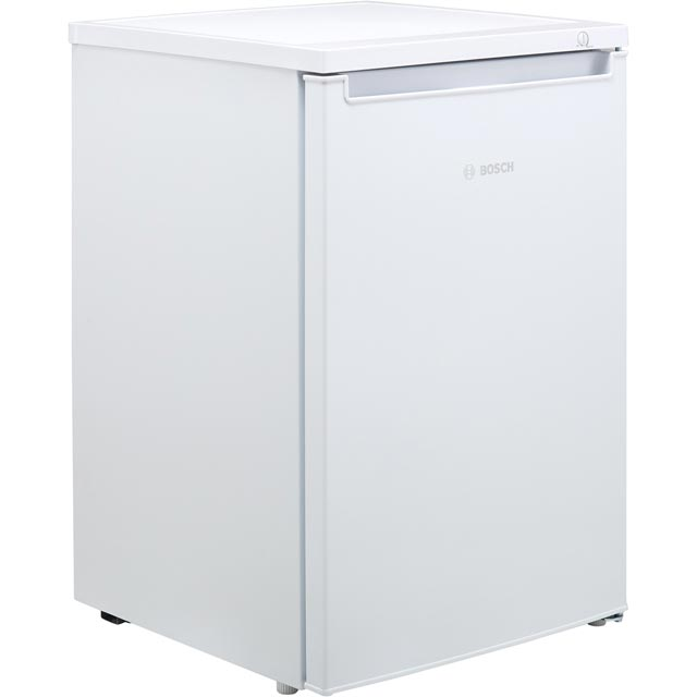 Bosch Serie 2 GTV15NW3AG Under Counter Freezer - White - A++ Rated - GTV15NW3AG_WH - 1