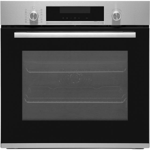 Bosch Serie 6 HBA5780S0B Built In Electric Single Oven - Stainless Steel - A Rated - HBA5780S0B_SS - 1