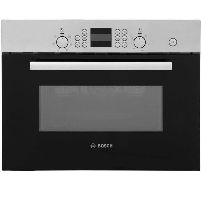 Bosch Serie 6 HBC84H501B Built In Combination Microwave Oven - Brushed Steel
