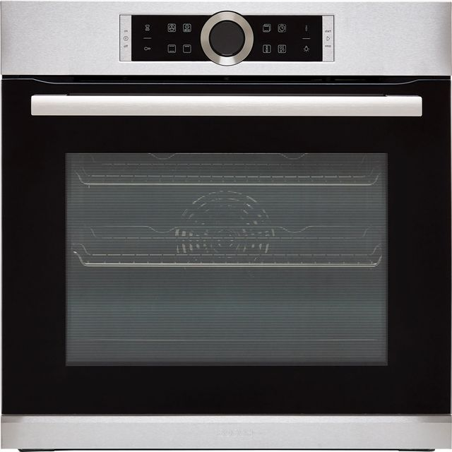 Bosch Serie 8 HBG634BS1B Built In Electric Single Oven - Stainless Steel - A+ Rated - HBG634BS1B_SS - 1