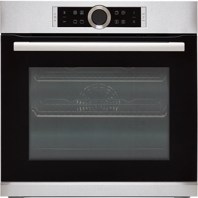 Bosch Serie 8 HBG634BS1B Built In Electric Single Oven - Stainless Steel - A+ Rated