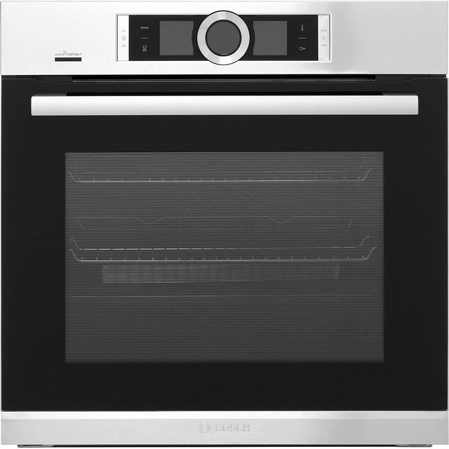 Bosch Serie 8 Electric Single Oven - Brushed Steel - A+ Rated