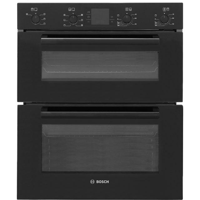 Bosch Serie 4 Hbn43b260b Built Under Double Oven In Black