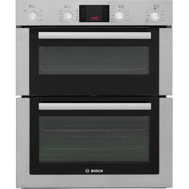 Bosch Serie 6 HBN53R550B Built Under Double Oven - Brushed Steel - A/B Rated