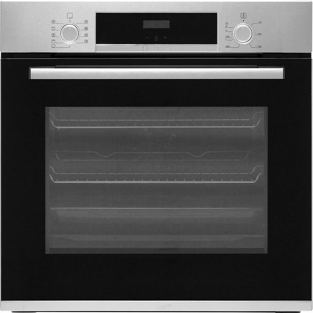 Bosch Serie 4 HBS534BS0B Built In Electric Single Oven - Stainless Steel - A Rated - HBS534BS0B_SS - 1