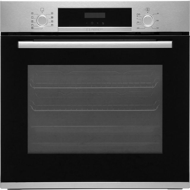 Bosch Serie 4 HBS573BS0B Built In Electric Single Oven - Stainless Steel - A Rated - HBS573BS0B_SS - 1
