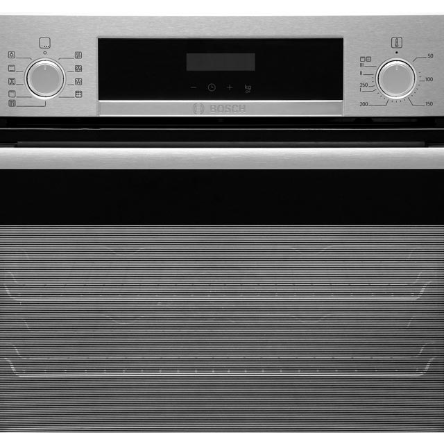Bosch Serie 4 HBS573BS0B Built In Electric Single Oven - Stainless Steel - HBS573BS0B_SS - 4