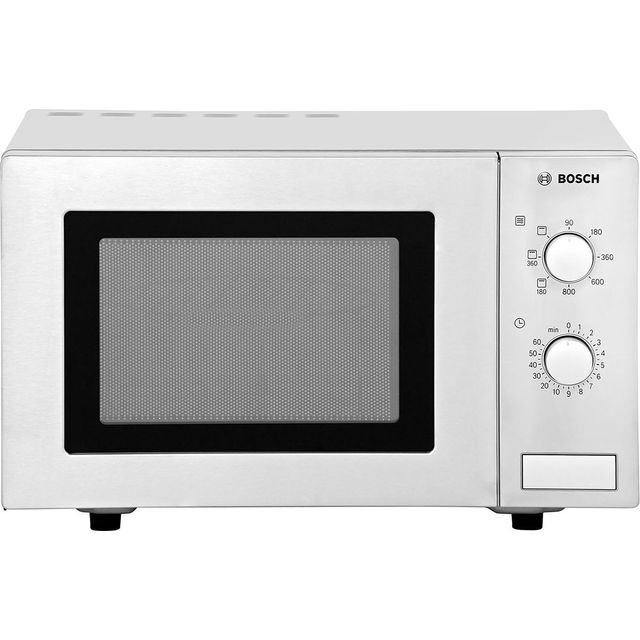 Bosch HMT72G450B 17 Litre Microwave With Grill - Brushed Steel - HMT72G450B_BS - 1