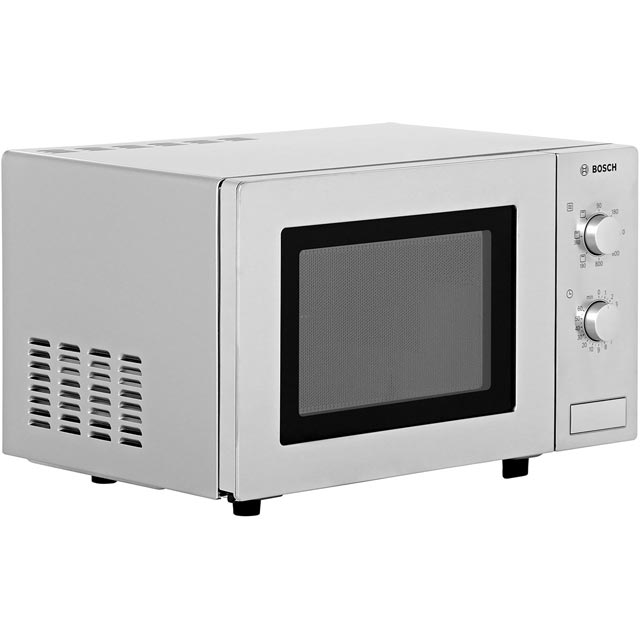 Bosch HMT72G450B 17 Litre Microwave With Grill - Brushed Steel - HMT72G450B_BS - 2