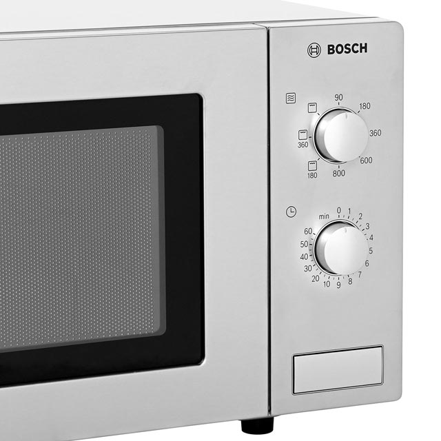 Bosch HMT72G450B 17 Litre Microwave With Grill - Brushed Steel - HMT72G450B_BS - 3
