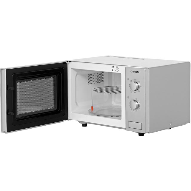 Bosch HMT72G450B 17 Litre Microwave With Grill - Brushed Steel - HMT72G450B_BS - 4
