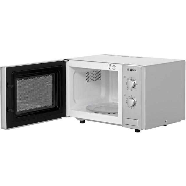 Bosch HMT72G450B 17 Litre Microwave With Grill - Brushed Steel - HMT72G450B_BS - 5
