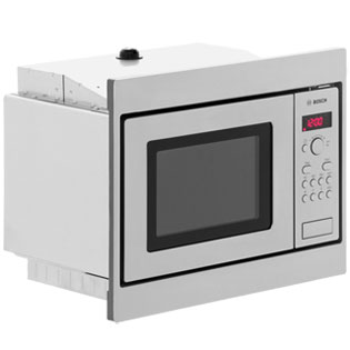 Bosch Serie 4 HMT75M551B Built In Microwave - Brushed Steel - HMT75M551B_SS - 4