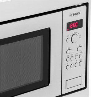 Bosch Serie 4 HMT75M551B Built In Microwave - Brushed Steel - HMT75M551B_SS - 5