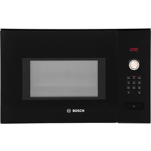 Bosch Serie 6 Hmt84m664b Built In Microwave Black