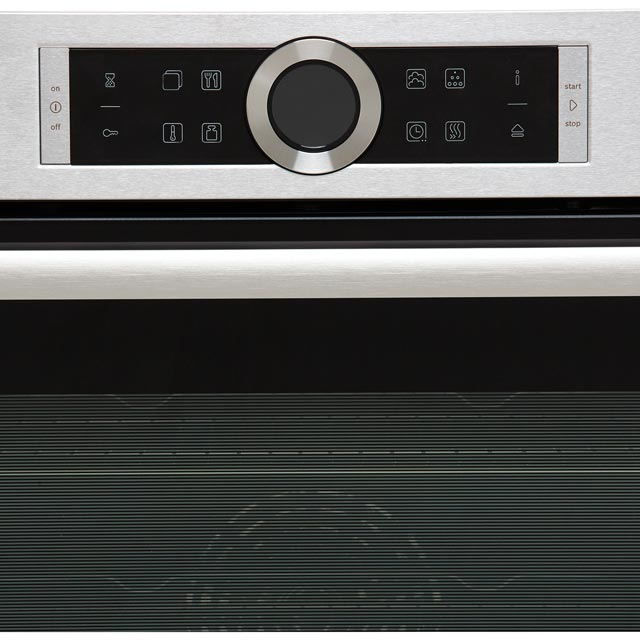 Bosch Serie 8 HRG635BS1B Built In Electric Single Oven - Stainless Steel - HRG635BS1B_SS - 4