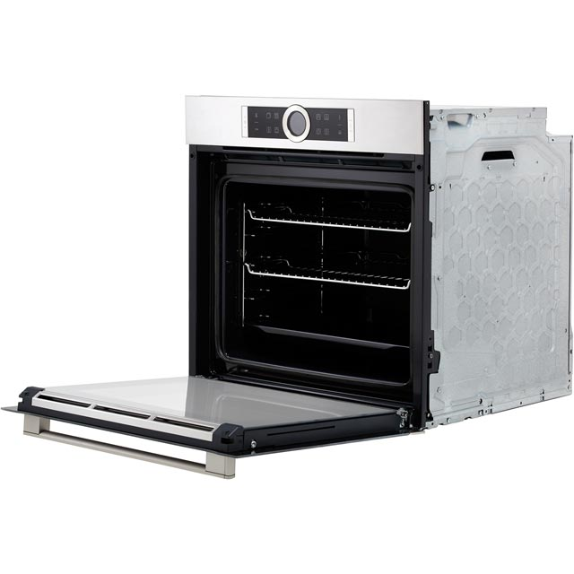 Bosch Serie 8 HRG635BS1B Built In Electric Single Oven - Stainless Steel - HRG635BS1B_SS - 5
