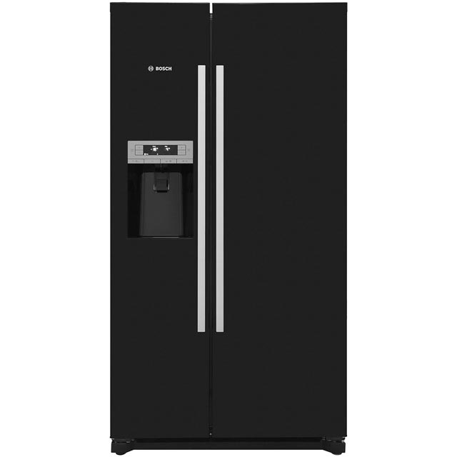 Bosch Serie 6 KAD90VB20G American Fridge Freezer - Black - A+ Rated Best Price, Cheapest Prices
