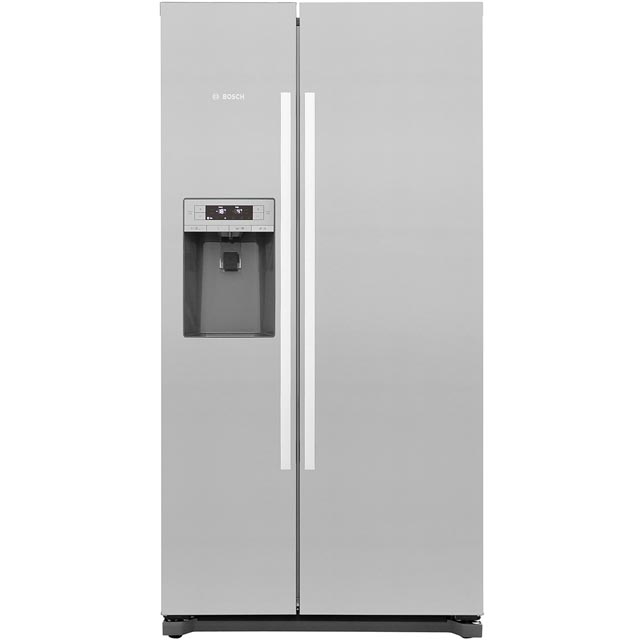 Bosch Serie 6 KAD90VI20G American Fridge Freezer - Stainless Steel Effect - A+ Rated - KAD90VI20G_SS - 1