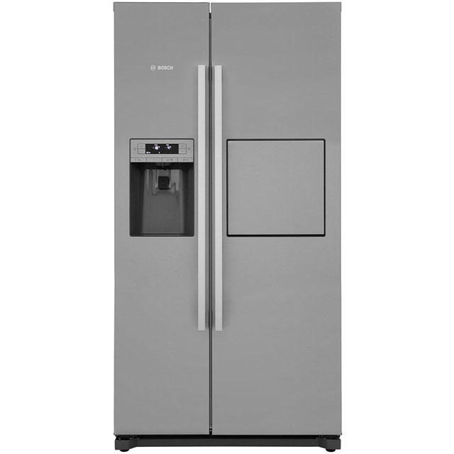 Bosch Serie 6 American Fridge Freezer - Stainless Steel Effect - A+ Rated