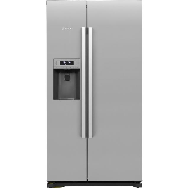 Bosch Serie 6 KAI90VI20G American Fridge Freezer - Stainless Steel Effect - A+ Rated - KAI90VI20G_SS - 1