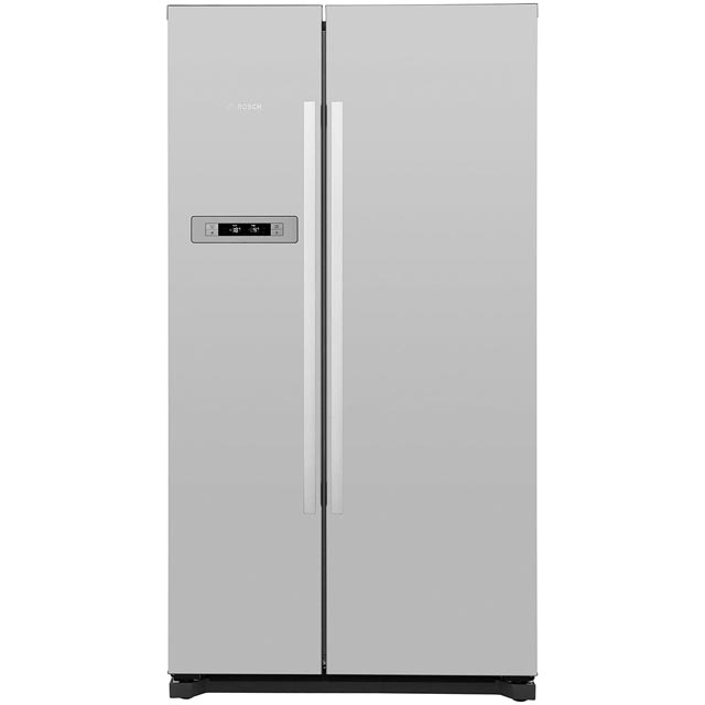 Bosch Serie 4 KAN90VI20G American Fridge Freezer - Stainless Steel - A+ Rated Best Price, Cheapest Prices