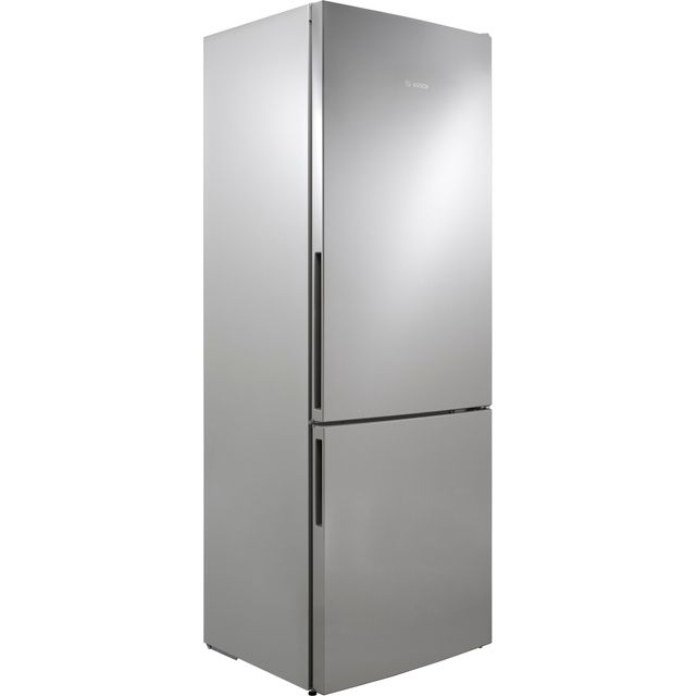 Bosch Serie 4 KGE49VI4AG 60/40 Fridge Freezer - Stainless Steel Effect - KGE49VI4AG_SSL - 1