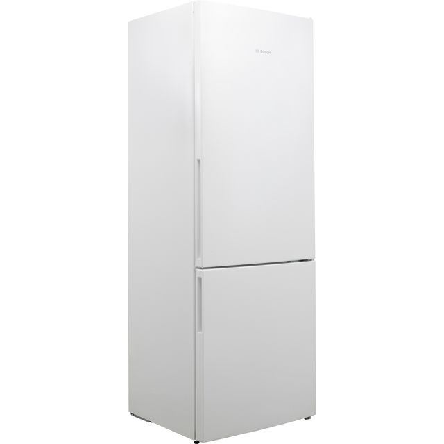 Bosch Serie 4 KGE49VW4AG 60/40 Fridge Freezer - White - A+++ Rated - KGE49VW4AG_WH - 1