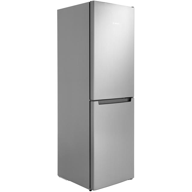 Bosch Serie 2 KGN34NL3AG 50/50 Frost Free Fridge Freezer - Stainless Steel Effect - A++ Rated - KGN34NL3AG_SSL - 1