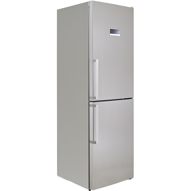 Bosch Serie 4 KGN34XL35G 50/50 Frost Free Fridge Freezer - Stainless Steel Effect - A++ Rated Best Price, Cheapest Prices
