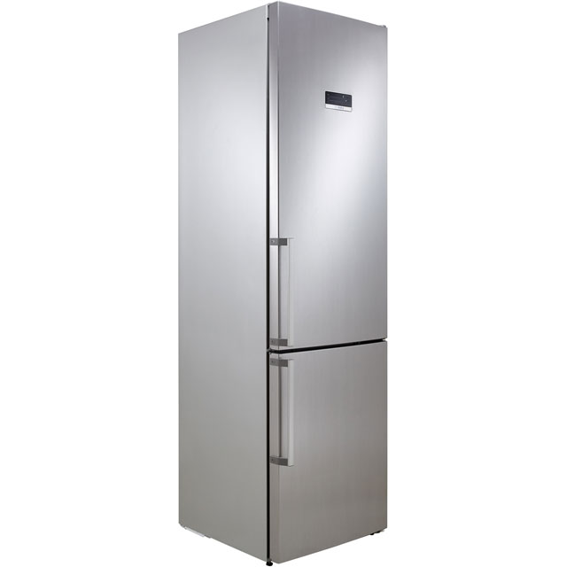 Bosch Serie 4 KGN39XL35G 60/40 Frost Free Fridge Freezer - Stainless Steel Effect - A++ Rated - KGN39XL35G_SSE - 1