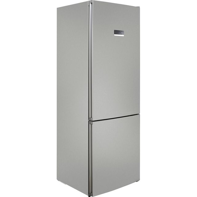 Bosch Serie 4 KGN49XLEA 70/30 Frost Free Fridge Freezer - Stainless Steel Effect - A++ Rated