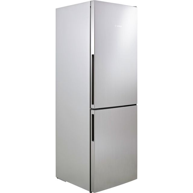 Bosch Serie 4 KGV33VL31G 60/40 Fridge Freezer - Stainless Steel Effect - A++ Rated Best Price, Cheapest Prices