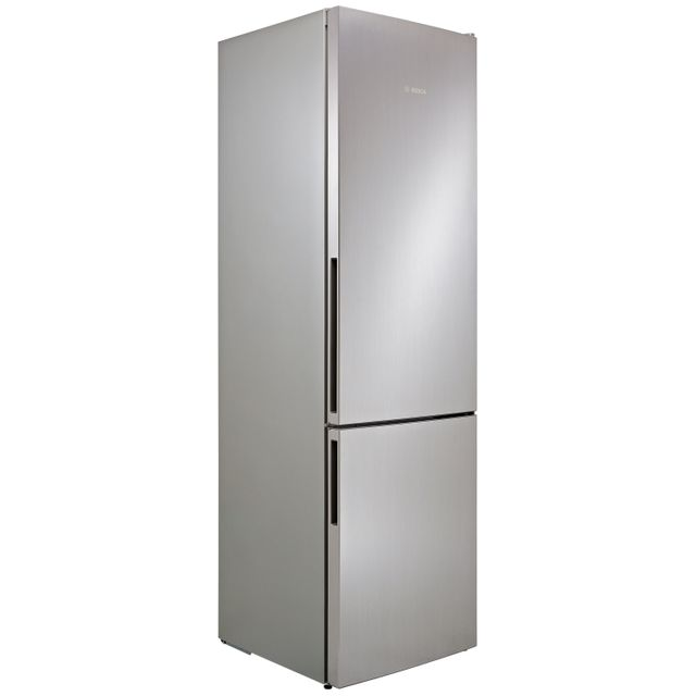 Bosch Serie 4 65/35 Fridge Freezer - Stainless Steel Effect - A++ Rated