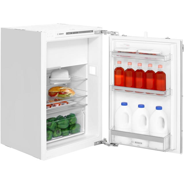 Bosch Serie 4 KIL22VF30G Integrated Upright Fridge with Ice Box - Fixed Door Fixing Kit - A++ Rated