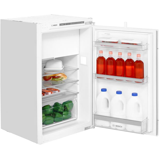 Bosch Serie 4 KIL22VS30G Integrated Upright Fridge with Ice Box - Sliding Door Fixing Kit - White - A++ Rated - KIL22VS30G_WH - 1