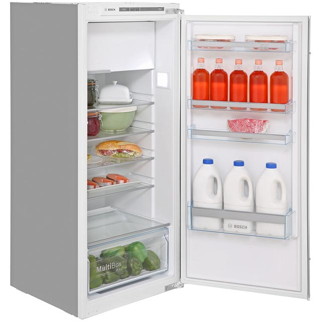 Bosch Serie 4 KIL42VS30G Integrated Upright Fridge with Ice Box - Sliding Door Fixing Kit - A++ Rated